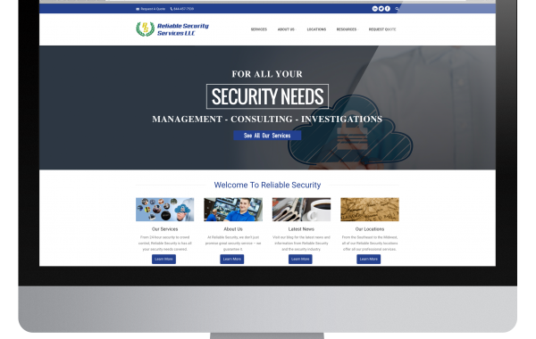 Reliable Security Services Website