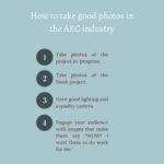 How to take project photos in the AEC industry & why it's important